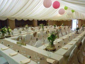 Interior at wedding