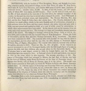 Doveridge page 1
