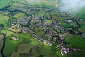 Aerial view of Doveridge